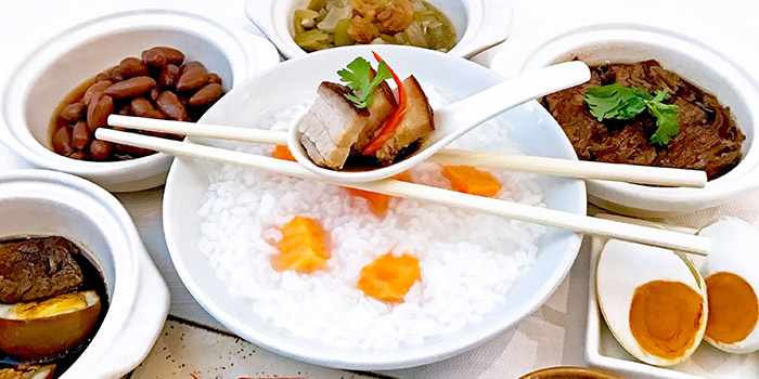 Teochew Porridge Buffet from Escape Restaurant & Lounge in One Farrer Hotel in Farrer Park, Singapore