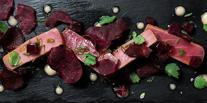 Flamed Tuna from Napoleon Food & Wine Barat Telok Ayer in Raffles Place, Singapore