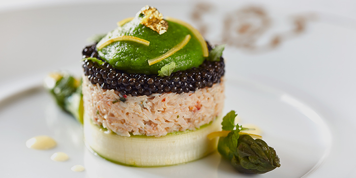 French Caviar with Crab Meat, Gaddi