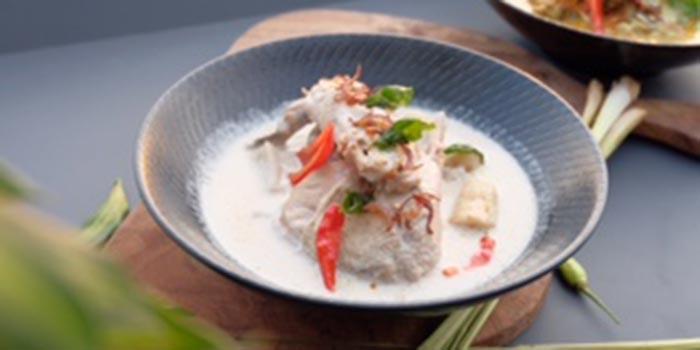 Dish 1 at ROCA (ARTOTEL Sanur)