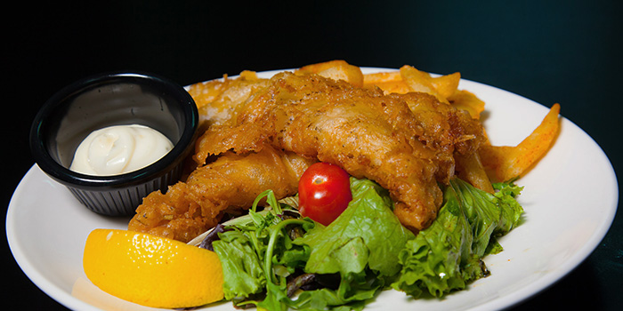 Fish & Chips from Jag Wine in East Coast, Singapore