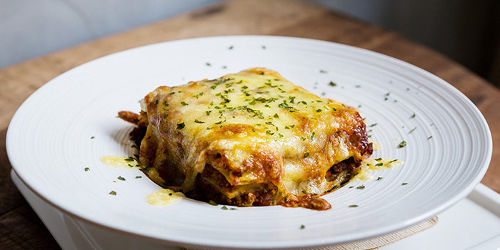 Beef Lasagna from Knots Cafe and Living at Orion@PayaLebar in Paya Lebar, Singapore