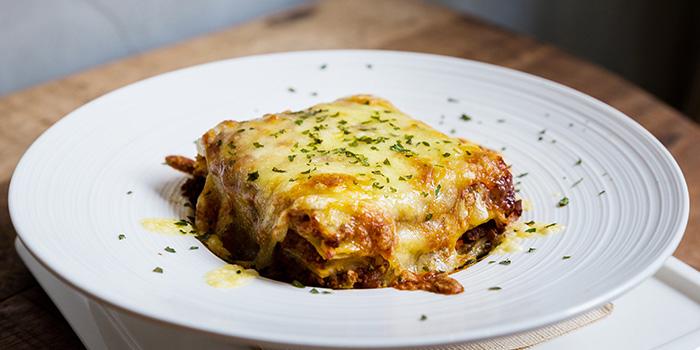 Beef Lasagna from Knots Cafe and Living at Orion@PayaLebar in Paya Lebar, Singapore
