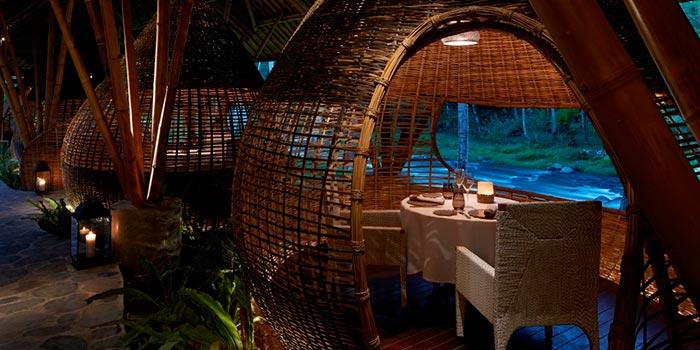 Kubu Restaurant 1 at Kubu, Bali