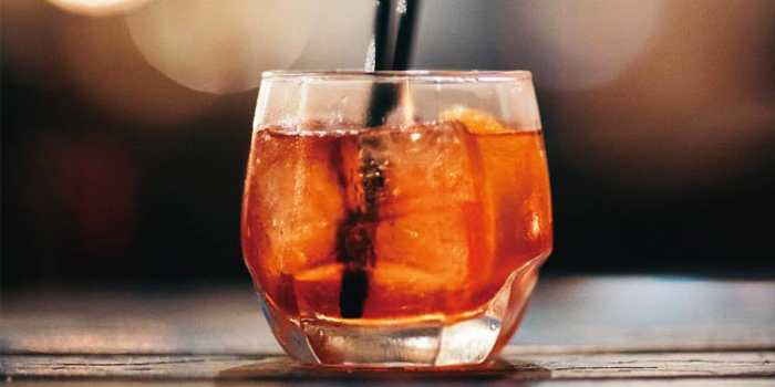 Negroni from Le Cafe Des Stagiaires in Sathorn Soi 12, Bangkok