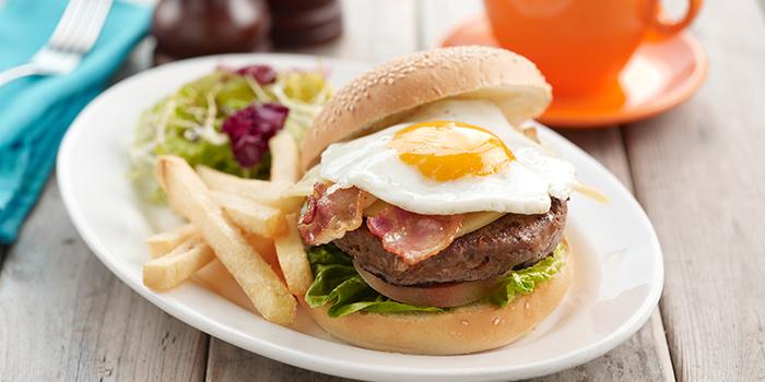 Coffee Club Burger from O