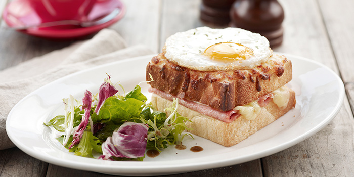 Croque Madame from O