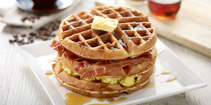 Waffle Stacker from O