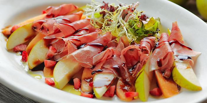 Prosciutto with Melon & Pear, Amaroni