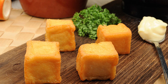Cod Fish Tofu from Ramen Champion & Hokkaido Paradise in Changi, Singapore