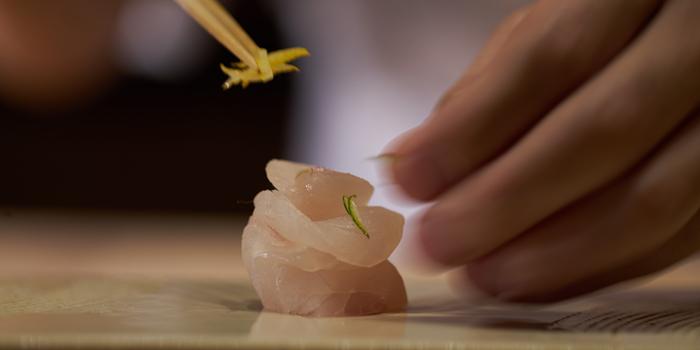 Sashimi from Sushi Zo at Athenee Tower, Bangkok