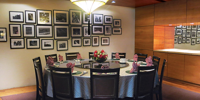 Private Dining Room of Silk Road Restaurant at Amara Hotel in Tanjong Pagar, Singapore