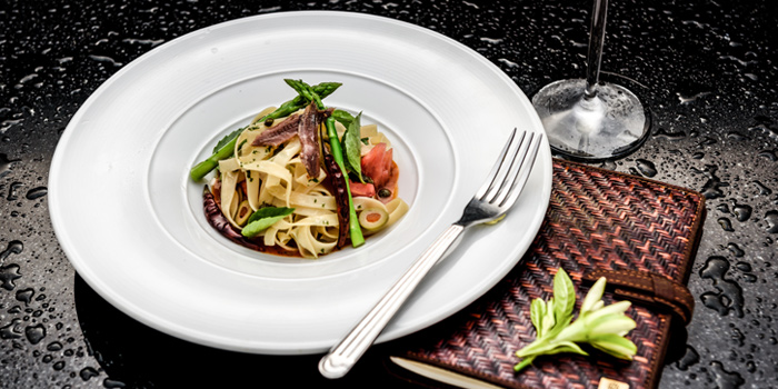 Spicy Glass Noodle Salad from Romsai  at Banyan Tree Bangkok in Sathorn, Bangkok