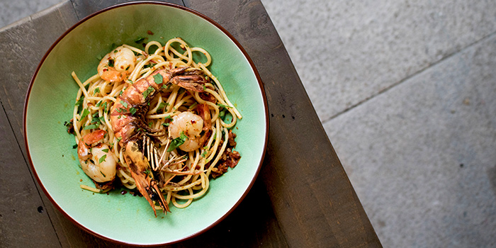 Tiger Prawn Truffle Pasta from Table Manners (Changi City Point) in Changi, Singapore