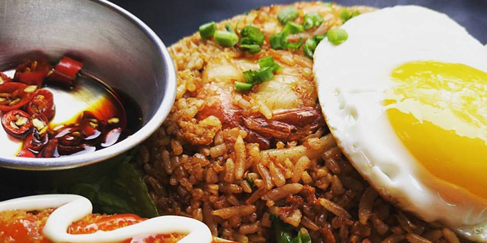 Seafood Fried Rice from The Cavern Horsecity in Bukit Timah, Singapore