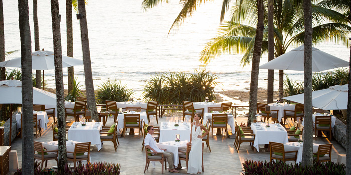 Restaurant Ambience of The Deck in Cherngtalay, Phuket, Thailand