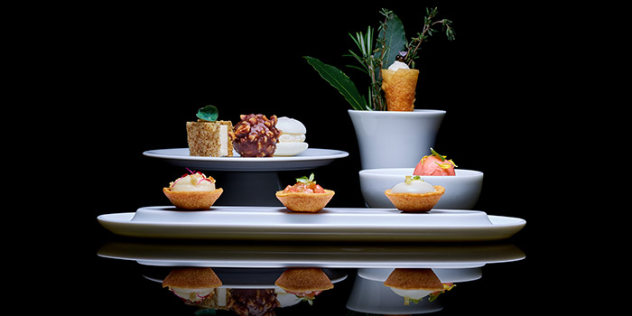 Canapes, LE PAN, Kowloon Bay, Hong Kong