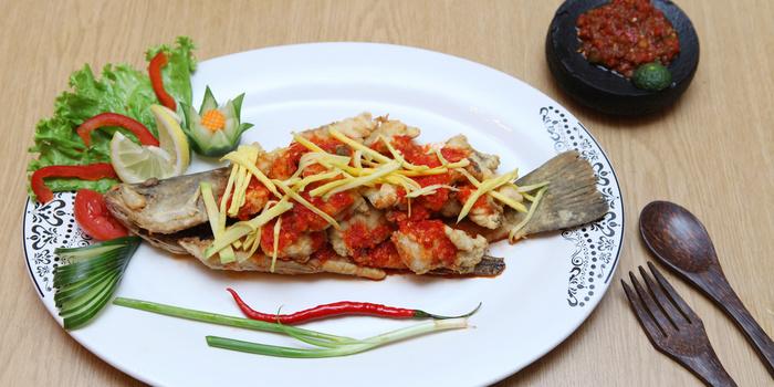 Kakap Mango Sauce at Batik Kuring