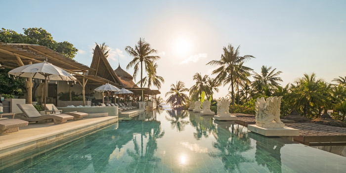 Pool at Azul Beach Club, Bali
