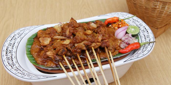 Chicken Skewer at Batik Kuring