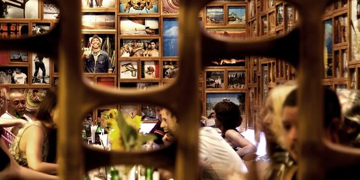 Interior from Lacalita Bar y Concina in Canggu, Bali