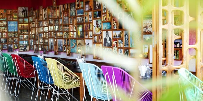 Interior of Lacalita Bar y Concina in Canggu, Bali