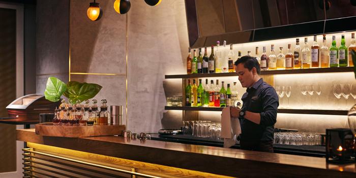 Bar from Riedel Wine Bar & Cellar at Gaysorn Village, Bangkok