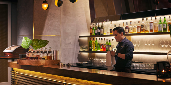 Bar from Riedel Wine Bar & Cellar at Gaysorn Village, Bangkok
