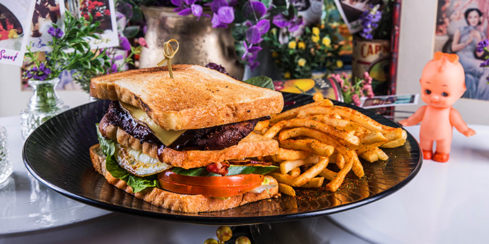 Club Sandwich from Brunches Cafe in Little India, Singapore