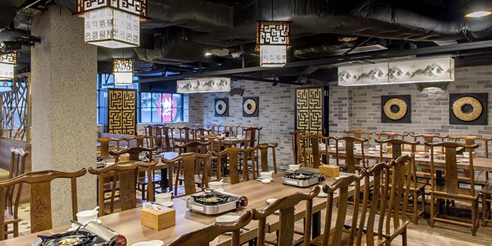 Dining Area of Hot Pot Wonderland, Central, Hong Kong