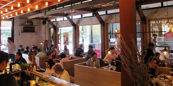 Dining Area from MAGURO Sushi - Chic Republic Bangna in Bangna-Trad Road, Bangkok