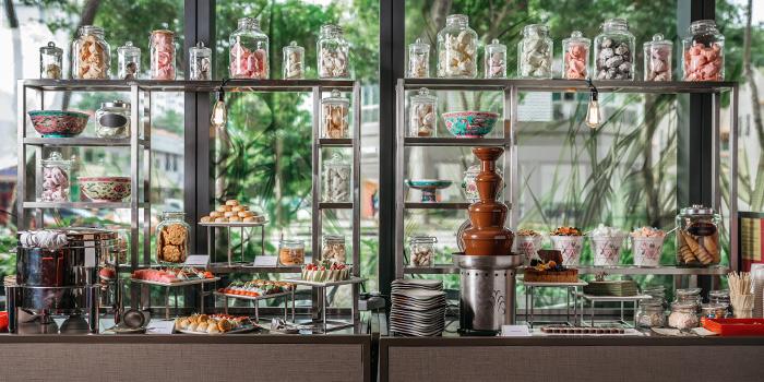 Dessert Spread from Escape Restaurant & Lounge in One Farrer Hotel in Farrer Park, Singapore