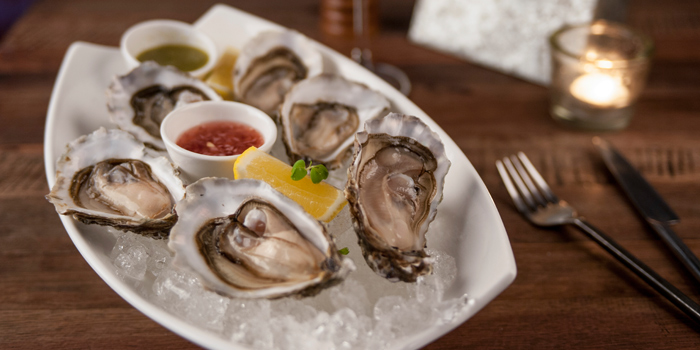 Fines de Claire Oysters from Oskar Bistro in Sukhumvit Soi 11, Bangkok
