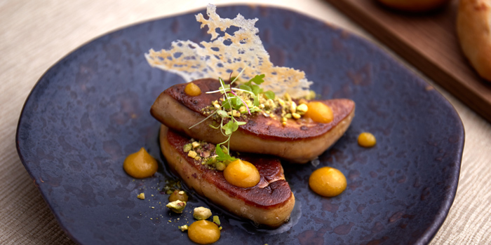 Foie Gras from Brasserie Europa at Siam Kempinski Hotel, Bangkok