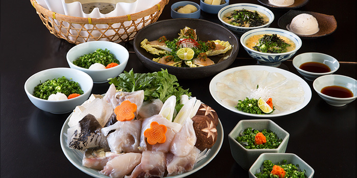 Gen Course from Guenpin Fugu & Snow Crab Restaurant at Maxwell Chambers in Tanjong Pagar, Singapore