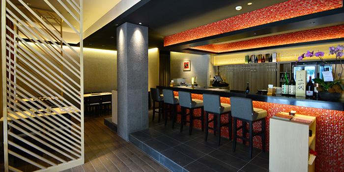 Counter Seating of Guenpin Fugu & Snow Crab Restaurant at Maxwell Chambers in Tanjong Pagar, Singapore