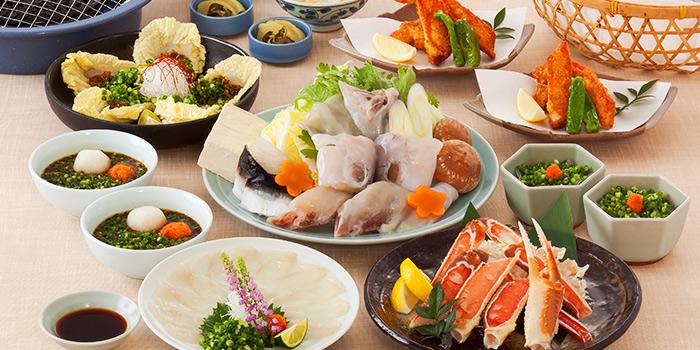 Zeitaku Course from Guenpin Fugu & Snow Crab Restaurant at Maxwell Chambers in Tanjong Pagar, Singapore