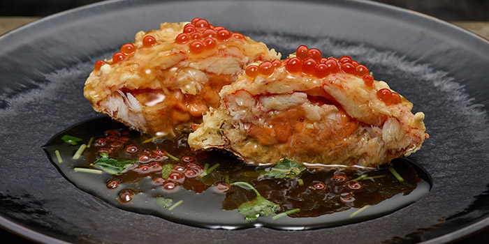 Hairy Crab Tempura, Matsunichi, Kowloon Bay, Hong Kong