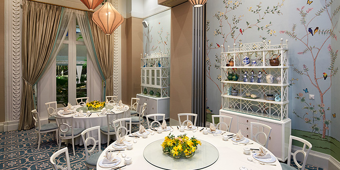 Private Dining Room of Jade at Fullerton Hotel in Fullerton, Singapore