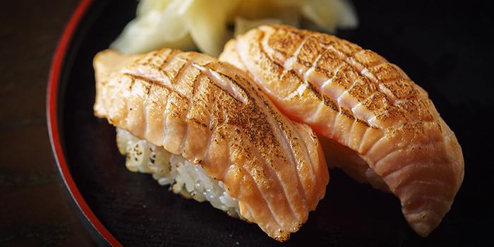 Aburi Salmon Sushi from Kushi Japanese Dining in Paya Lebar, Singapore