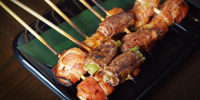 Bacon Yakitori from Kushi Japanese Dining in Paya Lebar, Singapore