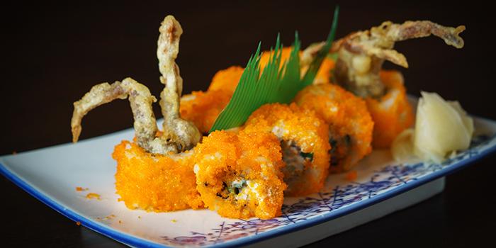 Salmon Roe & Lobster Sushi from Kushi Japanese Dining in Paya Lebar, Singapore