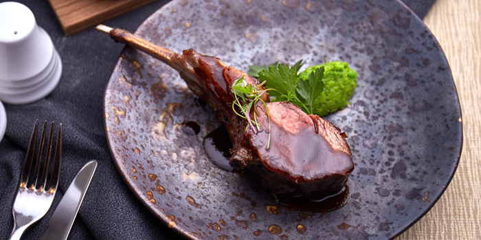 Lamb Cutlet from Brasserie Europa at Siam Kempinski Hotel, Bangkok
