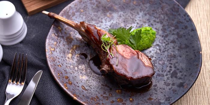 Lamb Cutlet from Brasserie Europa at Siam Kempinski Hotel, Bangkok