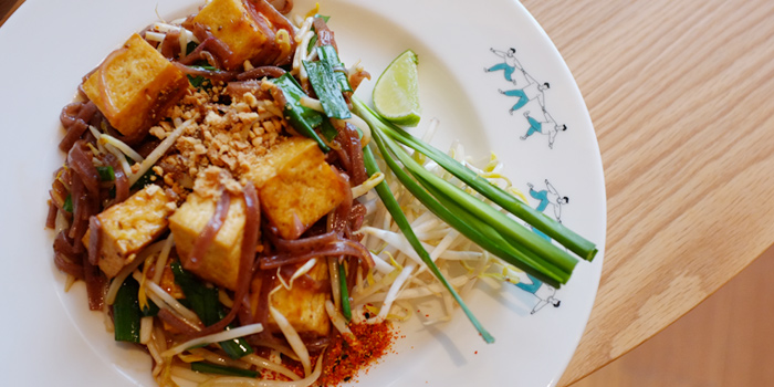 Padthai with Chia Seeds Noodles from Broccoli Revolution @Central Embassy at Central Embassy, Bangkok