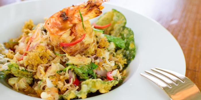 Rice Field Catfish and Prawn Salad from Blue Elephant Phuket, Talad Neua, Muang, Phuket, Thailand