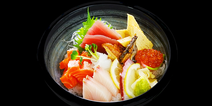 Chirashi from Sen of Japan at Marina Bay Sands in Marina Bay, Singapore