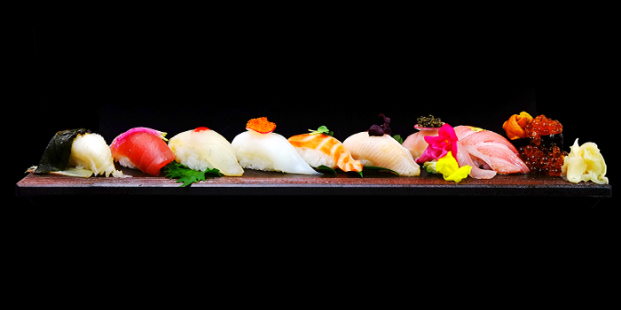 Nigiri Sushi from Sen of Japan at Marina Bay Sands in Marina Bay, Singapore