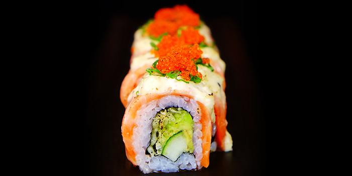Salmon Aburi Roll from Sen of Japan at Marina Bay Sands in Marina Bay, Singapore