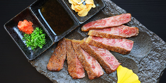 Tochigi Wagyu Steak from Sen of Japan at Marina Bay Sands in Marina Bay, Singapore